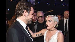 """Lady Gaga y Bradley Cooper MUY CARIÑOSOS tras película """"Ha Nacido Una Estrella (Star is Born)"""""""
