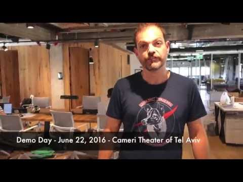 Liron Rose Barclays Accelerator Techstars - Demo Day - June 22, 2016