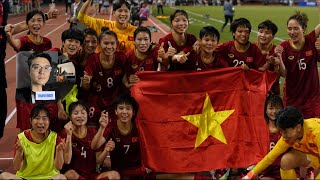 Việt Nam giành HCV bóng đá nữ, giao lưu với Huỳnh Như, Chương Thị Kiều, Loan (4), Hải Yến, Kim Thanh