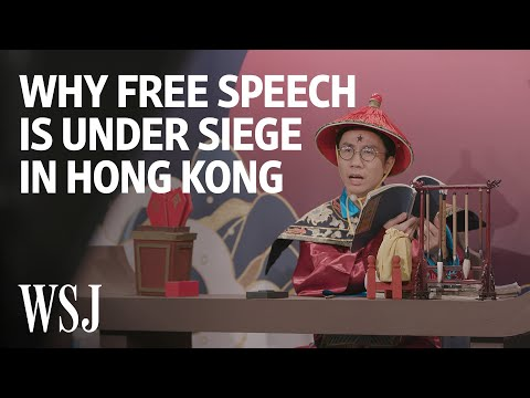 Free Speech Under Siege as Hong Kong TV Show Comes to End | WSJ