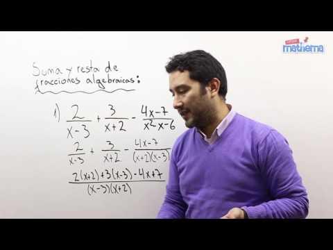 Fracciones algebraicas 4