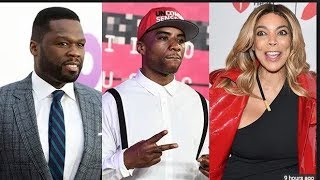50 Cent Disses Charlamagne Tha God For Ending Wendy Williams Beef & Taking Her Out On Date