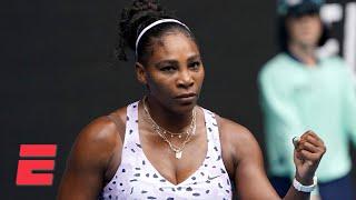 Serena Williams breezes past Anastasia Potapova in the first round | 2020 Australian Open Highlights