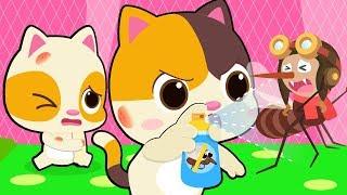 Cẩn thận!! muỗi đến kìa | Đuổi muỗi cùng mèo con Mimi | Hoạt hình - ca nhạc thiếu nhi hay | BabyBus