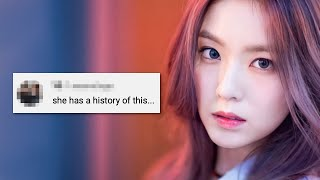 Red Velvet Irene's Bad Attitude Accusations