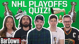 CAN YOU PASS THIS NHL PLAYOFFS QUIZ?