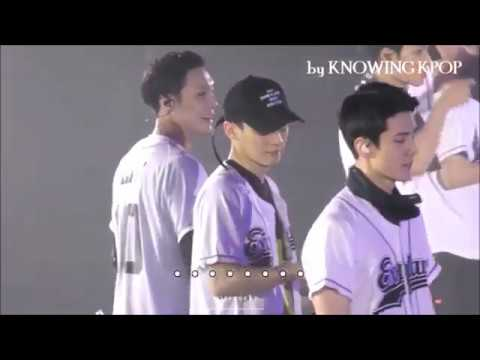 EXO ( 엑소 ) cute mistake on Live Stage compilation