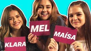 DESAFIO TUDO POR UM POP STAR - Maisa