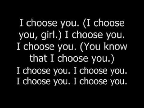 I Choose You by Mario.