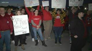 Hundreds protest Sevier Co. Commissioner's homophobic, racist comments