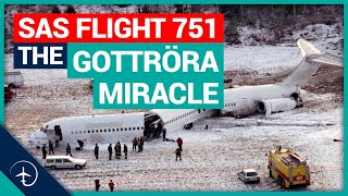 SAS flight 751, the Gottröra Miracle! Mentour Pilot tells the story