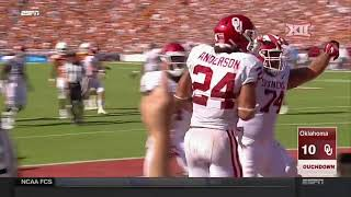 Oklahoma vs Texas Football Highlights