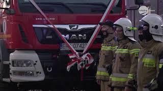 2020-11-20 Nowy Wóz Strażacki dla OSP Kamieńsk