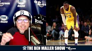 LeBron Is Planting Excuses For When The Lakers Choke in the Playoffs - Ben Maller