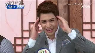 Super TV S1..Suju vs foreigner.. Korean pronunciation quiz..