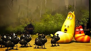 LARVA   LARVA VS FOURMIS   Film de dessin animé   Dessins Animés Pour Enfants   WildBrain