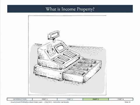 TRUST DEED INVESTING:   A quick primer on income property.