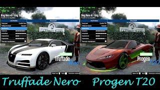 GTA 5 DLC - NEW Truffade Nero VS Progen T20. Best Supercar :)