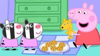 Peppa Pig Français | Peppa Pig Zaza et Zuzu 🌈 Dessin Animé