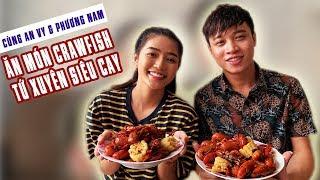An Vy Official | Cùng An Vy & Phương Nam Dùng Thử Món Crawfish Tứ Xuyên Siêu Cay, Siêu Hấp Dẫn