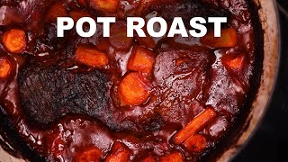 Pot Roast with Mashed Baked Potatoes