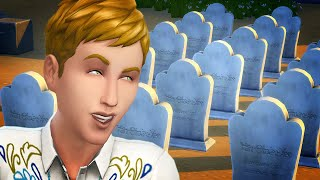 What happens to The Sims after 10 generations?