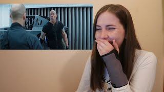 Hobbs and Shaw Official Trailer 2 Reaction!