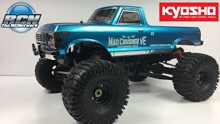 Kyosho Mad Crusher 1/8th 4wd Monster Truck RTR - Unboxing