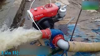 [Gọi:0973648388] Máy bơm nước chạy dầu đầu nổ D15 cực khỏe