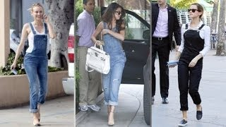 3 Ways to Wear Overalls Right Now | Celeb Style