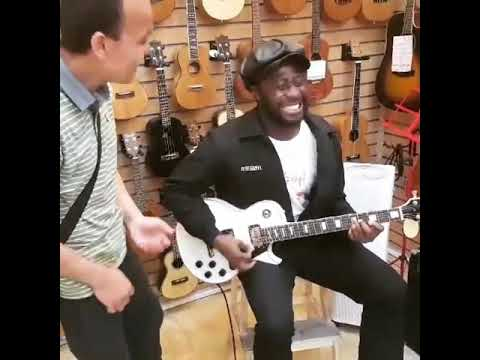 Integrated Music Company Limited - Moses Beyeeman in Korea @ The Guitar Shop