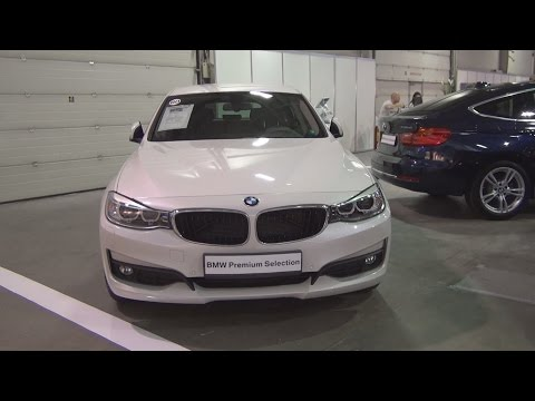 BMW 320d xDrive Gran Turismo (2015) Exterior and Interior in 3D