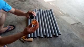 Cách làm trúm lươn bằng ống nhựa