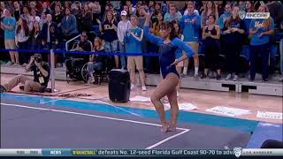 Katelyn Ohashi 2018 Floor vs SJSU 10.000