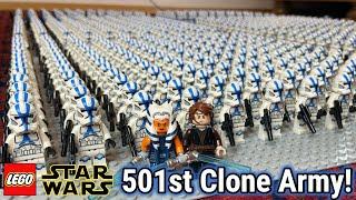 800x LEGO Star Wars '501st Clone Trooper' Minifiguren Armee!