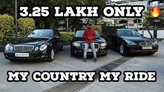 Luxury Cars Under 4 Lakh 🔥 | BMW | Audi | Mercedes | My Country My Ride