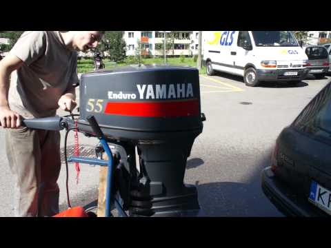 Yamaha 40hp 2 stroke cold start musica movil for Yamaha enduro 40 hp outboard