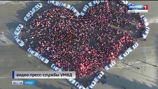 В Омске накануне почтили память жертв дорожно-транспортных происшествий