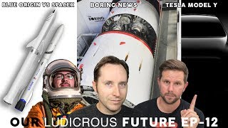 EP 13 - Elon on 60 Minutes, Boring Company Launch, Tesla Model Y and New Glenn Rocket