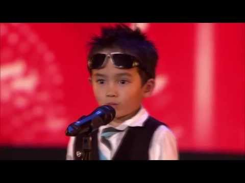 4-latek tańczy Gangnam Style w belgijskim Mam Talent [NAPISY PL]