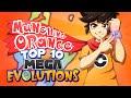 Top 10 Mega Evolutions (Pokémon X and Y)