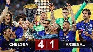 Chelsea vs Arsenal 4-1 / Highlights & Goals - Europa League (29/5/2019)