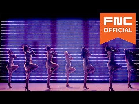 AOA - 단발머리(Short Hair) MV Silhouette Dance Full ver.