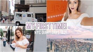 VLOG | New York diary days 1& 2! (yasss, I finally made it!) | Naomi Victoria