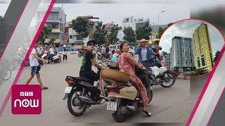 Hà Nội: Người dân nháo nhác vì dư chấn động đất