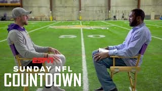 Adam Thielen's unorthodox journey to the NFL | NFL Countdown | ESPN