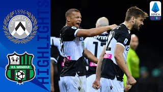 Udinese 2-0 Sassuolo | Llorente & Pereyra Score to Secure Victory | Serie A TIM