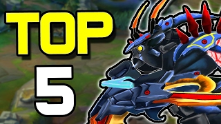 TOP 5 BEST JUNGLERS FOR PATCH 7.2   League of Legends