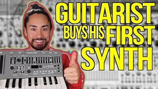 Guitarist Buys His First Synth