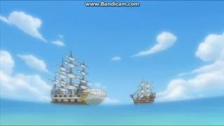 Shanks Confronts Whitebeard and Uses the Haki of the Supreme King (Full Clip, Eng. Subbed, HD)